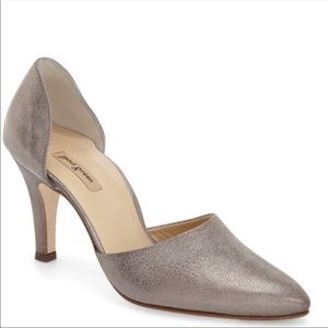 Paul Green Char Metallic D'Orsay Pump - 9.5